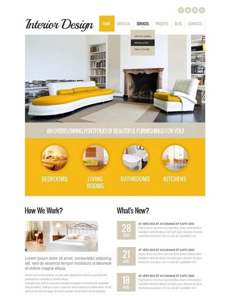 home design wordpress theme 40 best interior furniture wordpress themes for help your