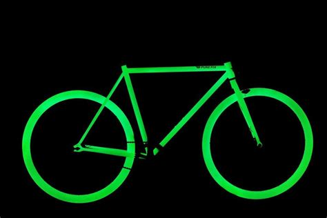 glow in the paint for bikes glow in the bike