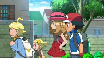 Pokemon ash and serena images pokemon images