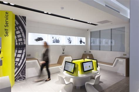 smart car rental uk car showroom 187 retail design