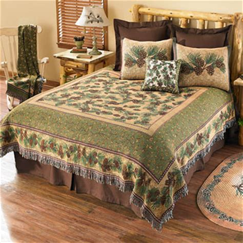 pinecone bedding pinecone tapestry bedding wild wings