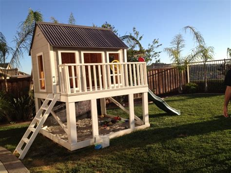 diy playhouse plans ana white playhouse diy projects