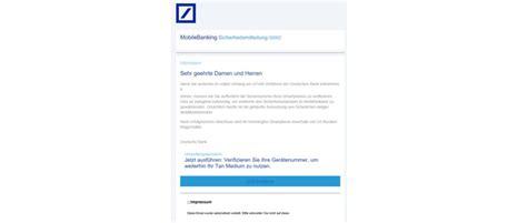deutsche bank spam trojaner f 252 r das smartphone phishing mail f 252 r deutsche
