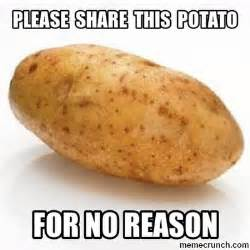 Meme Potato - please share this potato