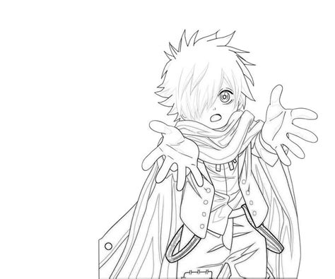 Anime Boy Coloring Pages Cool Color Pages Coloring Home by Anime Boy Coloring Pages