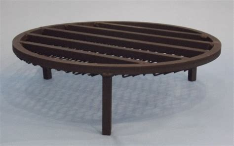 Fire Pit Grate Handmade Steel Fire Bowl Fire Pit With Firepit Grates