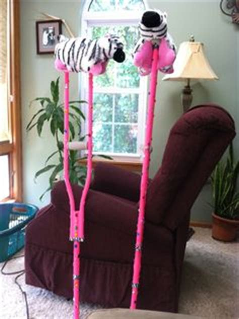 how to make crutches more comfortable on hands decorated a handicap walker as a retirement gift used
