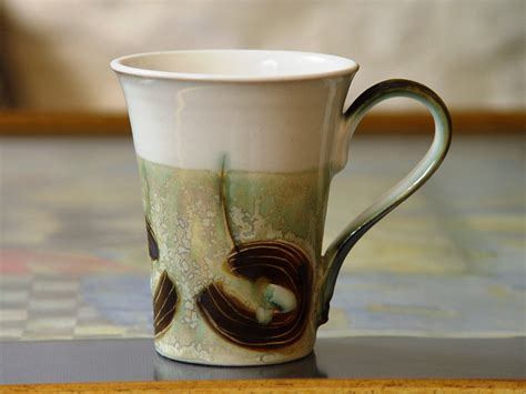 elegant coffee mugs promotion online shopping for elegant stoneware mug for coffee or tea handmade ceramic