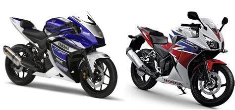 Perbandingan Sparepart Honda Dan Yamaha mau tau perbandingan yamaha r25 vs honda cbr250r berita