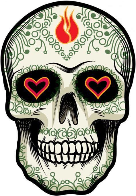 Sticker Autocollant Voiture 3365 by Sticker Calavera Tete De Mort Mexicaine 17 Ref D7455