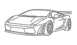 How To Draw A Lamborghini Easy How To Draw A Lamborghini Gallardo Car