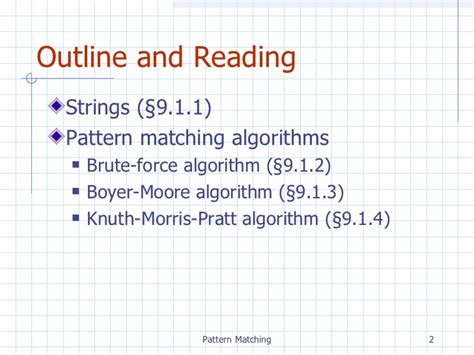 net pattern matching string chpt9 patternmatching