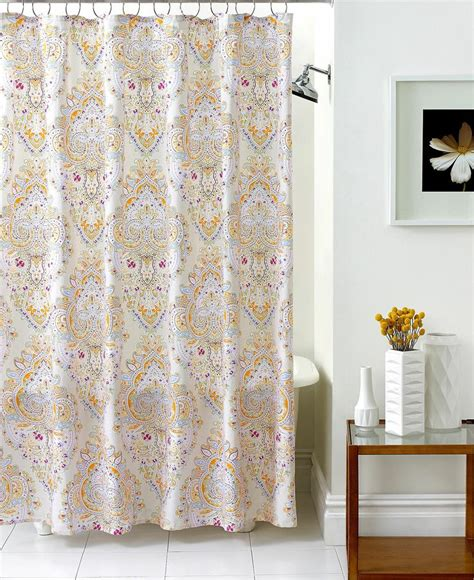 Echo Bathroom Accessories Echo Bath Accessories Laila Shower Curtain Shower Curtains Accessories Bed Bath Macys