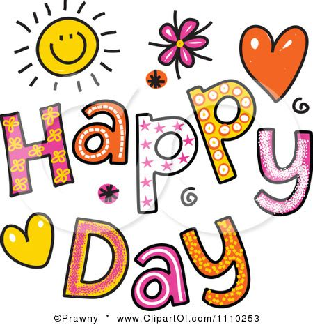 free happy clip free happy day clipart