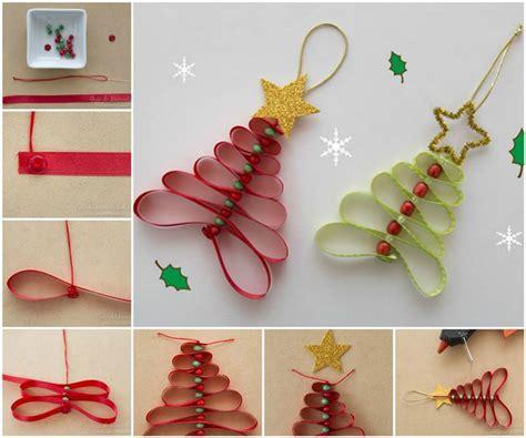 diy tree ribbon decorations creative ideas diy adorable ribbon and tree