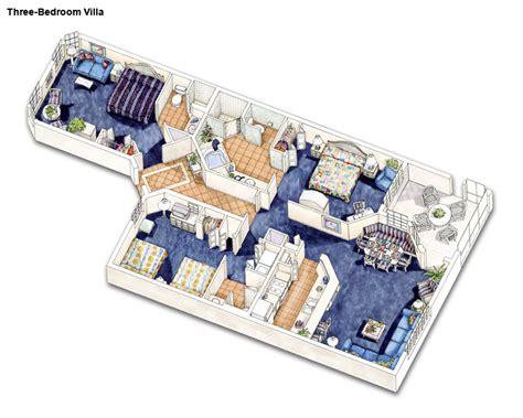 orange lake resort floor plans holiday inn club vacations