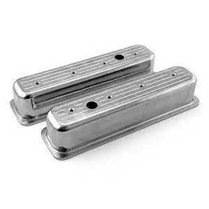 chevy sbc 350 center bolt polished aluminum milled
