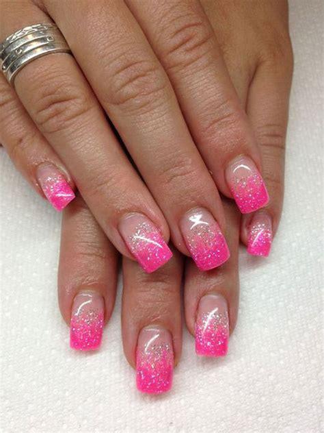 pattern gel nails 15 gel french pink nail art designs ideas 2016 gel