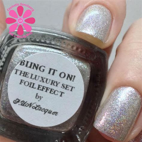 Bling It On by Lacquer Bling It On Swatch Cosmetic Sanctuary