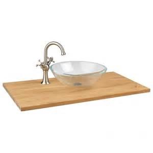 37 bathroom vanity top 37 quot x 19 quot narrow depth teak vessel sink vanity top bathroom