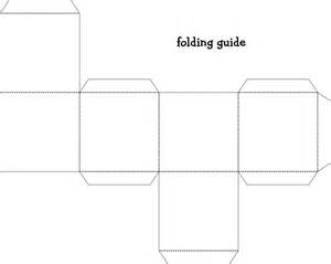 Folded Paper Template - how to make a paper box template choice image templates