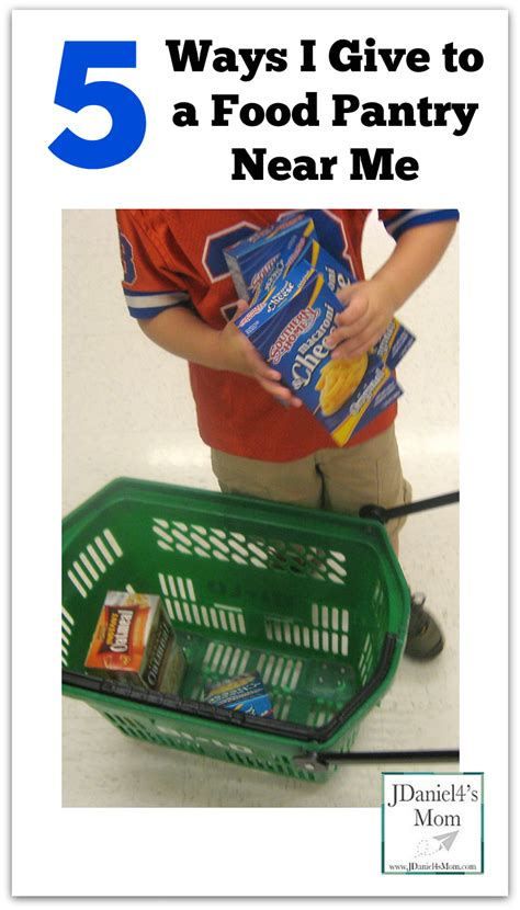 Food Pantry Near Me by 5 Ways I Give To A Food Pantry Near Me Jdaniel4s