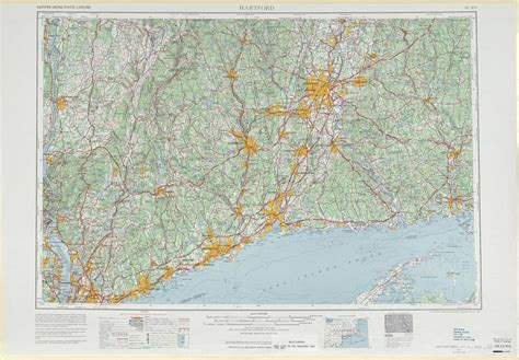 printable connecticut road map hartford topographic maps ct ny usgs topo quad 41072a1