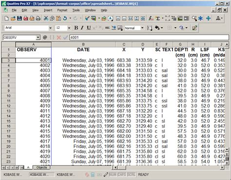 Quattro Pro Spreadsheet by Quattro Pro For Dos An Obsolete Format At Last Open