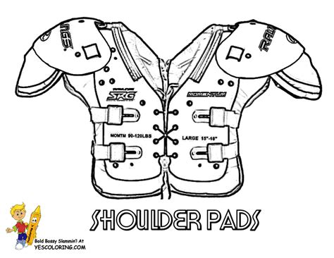 Coloring Pages Of Football Stuff | pin by the cookie cutter magpie on football pinterest