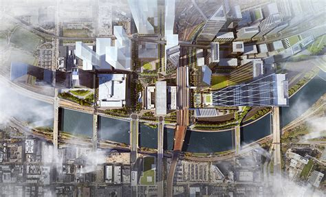 design center philadelphia 1100 ludlow street som reveals masterplan for philadelphia s 30th street station