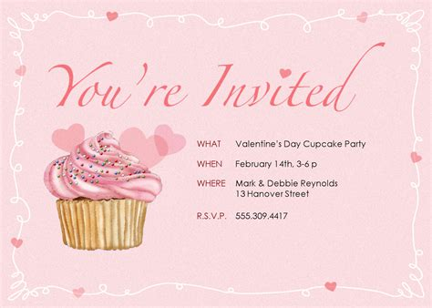 cupcake invitations template cupcake invitations template best template collection