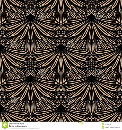 pattern art deco art deco vector floral pattern stock photo image