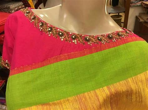 boat neck design pattern best 25 magam work blouses ideas on pinterest aari work