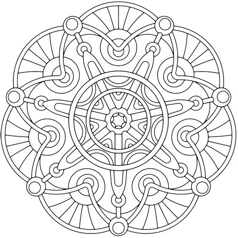 47 free printable adult coloring pages to print