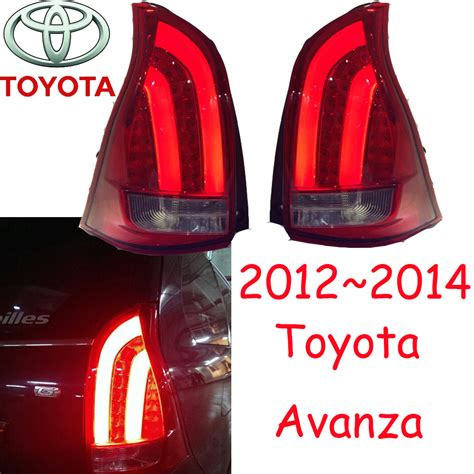 Lu Fog L Avanza Led avanza taillight free ship led 2pcs set avanza rear light