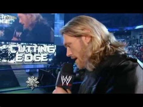 On The Cutting Edge smackdown 5 02 10 the cutting edge returns with guest