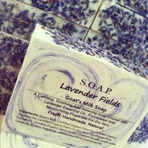 Labels For Handmade Soap - lavender fields soap labels customer ideas