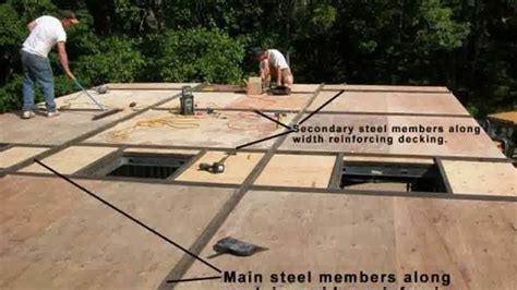 live roof edging shipping container home exterior insulation