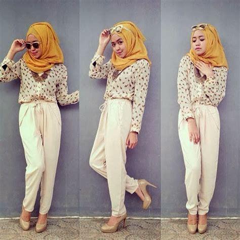 Baju Muslim Remaja Jalan Jalan 40 Gambar Desain Baju Muslim Remaja Tren 2017