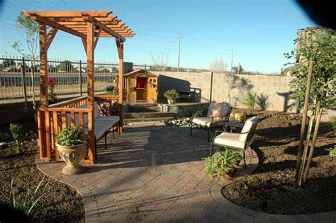 Patio Ideas Arizona Backyard Paver Patio Ideas New Mexico Patio Pavers