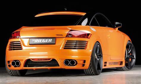 Audi Rieger by Rieger Heckscheibenblende Audi Tt 8j Jms Fahrzeugteile