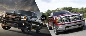 chevy silverado vs gmc