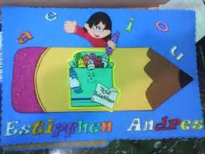 decoraciones de carpetas para nios graduados de preescolar arte en foami