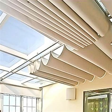 Electric Controller Automatic Ceiling Curtain Skylight