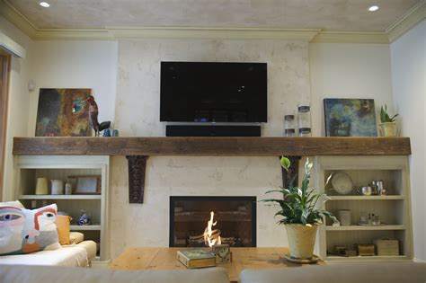 Plaster Fireplaces by Venetian Plaster Fireplace Vancouver