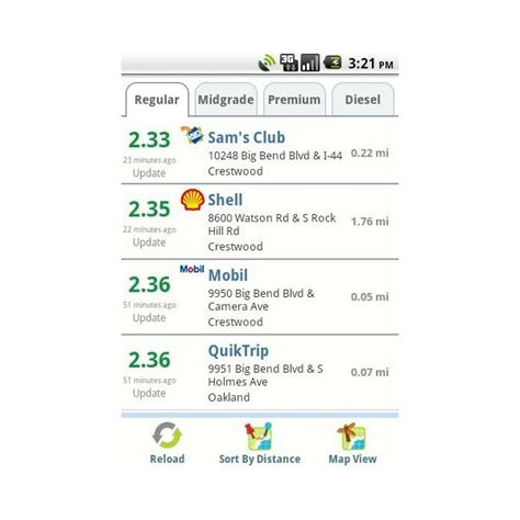 gasbuddy app for android gasbuddy for android 28 images gasbuddy for android helps you find cheap gas gasbuddy