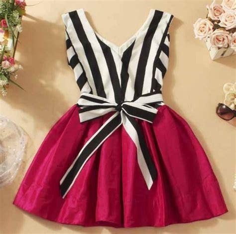D1 083 Brukat Tutu Dress Sale v neck striped tutu dress stitching a 090537 on luulla