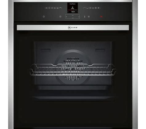 neff cooktop buy neff b27cr22n1b electric oven stainless steel free