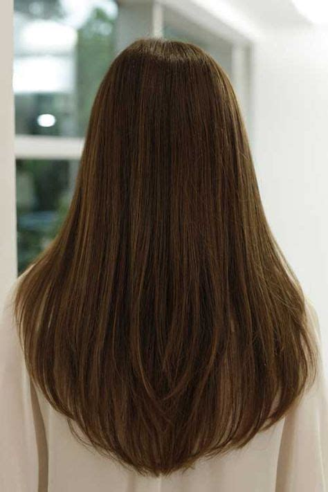 shaping long hair 17 best ideas about long v haircut on pinterest v shape