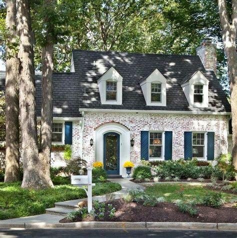 cottage interior colour ideas multi color painted brick house best cottage exterior